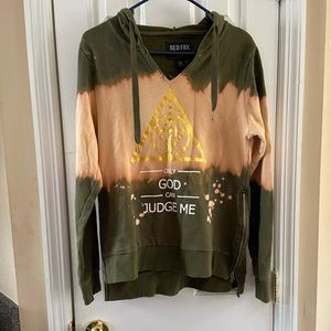 """Hoodie Only """"God can Judge me"""""""
